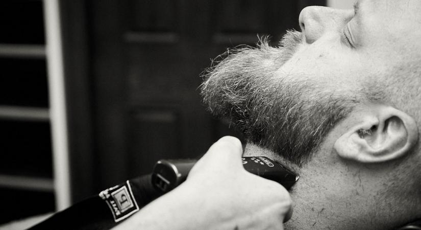 Стрижем бороду у барбера