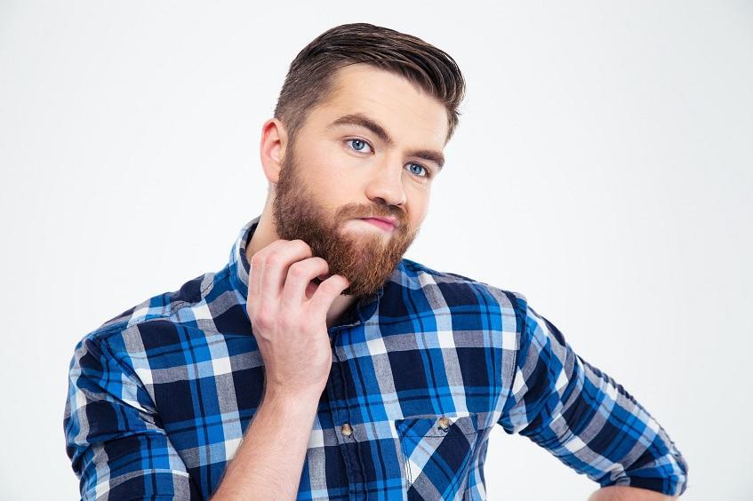 Шелушится борода у мужчин